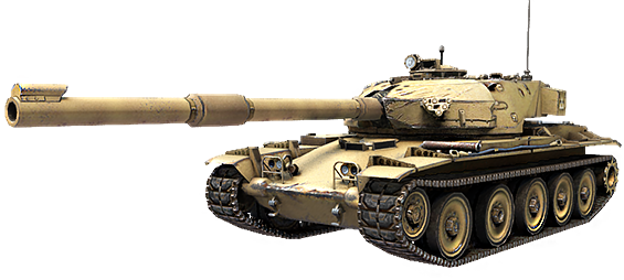 Танк FV214 Conqueror в Ground War: Tanks