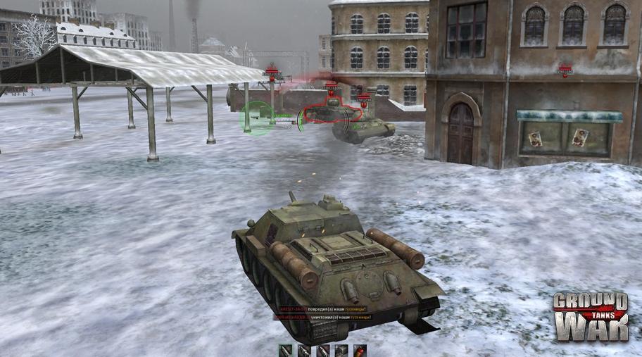 скачать игру Ground War Tanks через торрент - фото 3